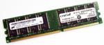 Оперативная память DDR 1Gb 400 Mhz Crucial PC-3200 DIMM