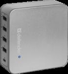 Сетевая зарядка Defender UPA-50 USB x4; USB Type-C x1