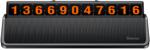 Табличка с номером телефона на приборную доску автомобиля - Baseus