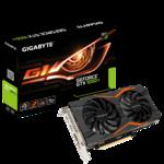 Видеокарта GIGABYTE GeForce GTX 1050 Ti 1366MHz PCI-E 3.0 4096MB 7008MHz 128 bit DVI DisplayPort 3xHDMI HDCP G1 Gaming