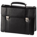 """Сумка портфель для ноутбука HAMA Business 15.6"""" (Натуральная кожа)"""