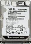 "Жесткий диск 2.5"" 320 Gb WD Black WD3200BEKT (7200 rpm, SATA II, 16 Mb)"