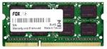 Оперативная память DDR3 8Gb 1600 Mhz Foxline PC3-12800 So-Dimm для ноутбука