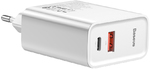 Сетевое зарядное устройство Baseus Speed PPS Quick Charger Type C PD 30W CCFS-C02 (White)