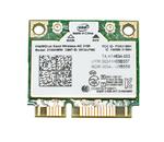 Адаптер WiFi Intel Dual Band Wireless-AC 3160 (Mini PCI-E half-size, B/G/N/AC, 433 Mbit/s, 2.4/5 Ghz)