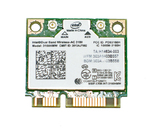 Адаптер WiFi Intel Dual Band Wireless-AC 3160 (Mini PCI-E half-size, B/G/N/AC, 433 Mbit/s, 2.4/5 Ghz)