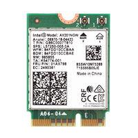 Адаптер WiFi 6 Intel AX201NGW (M.2, N, AC, AX, 2.4 Gbps, 2.4/5Ghz) CNVi