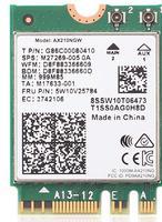 Адаптер WiFi 6E Intel AX210NGW (M.2, N, AC, AX, 2.4 Gbps, 2.4/5/6Ghz, Bluetooth 5.2)