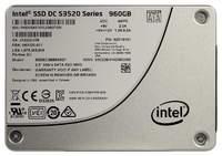 Диск SSD 960 Gb Intel S3520 SSDSC2BB960G701 (SATA, 3D MLC)
