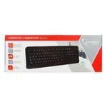Клавиатура с подсветкой Gembird KB-200L Black USB