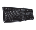 Клавиатура Logitech Keyboard K120 Black USB
