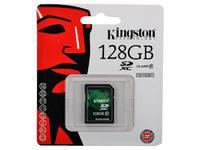 Карта памяти SD 128 Gb Kingston SDX10V/128GB (SD XC, Class 10)