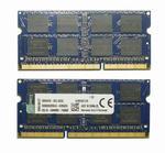 Оперативная память DDR3 8Gb 1600 Mhz Kingston So-Dimm PC3-12800 для ноутбука