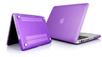 """Чехол накладка для Apple MacBook Pro 15"""" (A1286) Сиреневый, матовый"""