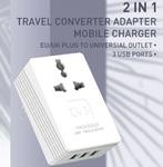 Сетевая зарядка LDNIO A3306 x3 USB