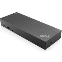 Док-станция (порт-репликатор) Lenovo ThinkPad Hybrid USB-C with USB-A Dock (40AF0135EU) для ThinkPad X1 Carbon (6th Gen, 5th Gen), ThinkPad X1 Yoga, ThinkPad X280, ThinkPad T470, ThinkPad E580, ThinkPad E480, ThinkPad 13 2nd Gen