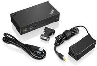 Док станция Lenovo ThinkPad USB 3.0 Pro Dock (40A70045EU)
