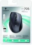 Мышь Logitech Marathon M705 Black USB беспроводная