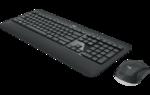 Беспроводная клавиатура и мышь Logitech MK540 ADVANCED Black USB Комплект