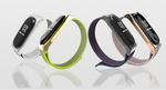 Ремешок браслет для Xiaomi Mi Band 4, 3 нейлоновый