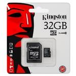 Флешка MicroSD 32Gb Kingston SDC10/32GB Class 10, XC UHS-1