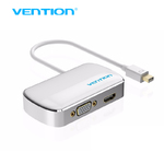 Переходник Thunderbolt (Mini DP) to HDMI, VGA Metallic Slim