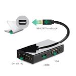 Переходник Mini DisplayPort (Thunderbolt) to HDMI, DVI, VGA (UGreen)