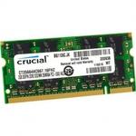 Оперативная память DDR2 2Gb 667 Mhz Crucial PC2-5300 So-Dimm для ноутбука