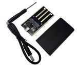 Переходник (внешняя коробка) для mSATA to USB 3.0 metal box 006 10Gbps