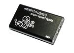 Переходник (внешняя коробка) для mSATA to USB 3.0 enclosure box 004