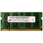 Оперативная память DDR2 2Gb 800 Mhz Micron So-Dimm PC2-6400 для ноутбука