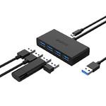 Разветвитель USB 3.0 Orico G11-H4-U3 (4 порта, питание MicroUSB)