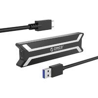 Переходник (внешний бокс) M.2 PCI-E NVME to USB 3.1 Type-C (Gen 2 10 Gbps) Orico PBM2-C3