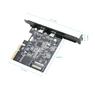 Контроллер PCI-E x4 USB Type-C 3.1 Gen2 10 Gbps (2 порта) ASMedia