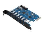 Контроллер PCI-E USB 3.0 (7 портов) Qicent