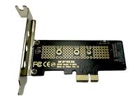 Контроллер PCI-E 3.0 x1 to M.2 PCI-E NVMe M Key (M2X1) с низкопрофильной планкой