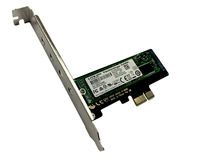 Контроллер PCI-E 3.0 x1 to M.2 PCI-E NVMe M Key с планкой