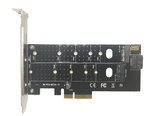 Контроллер PCI-E 3.0 x4 to M.2 PCI-E NVMe M Key 22110, 2280