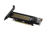 Контроллер PCI-E 3.0 x16, x4 to M.2 PCI-E NVMe M Key 22110, 2280