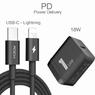 Зарядка с кабелем Rock PD Fast Charging Set с функцией быстрой зарядки для iPhone X, 8, 8 plus