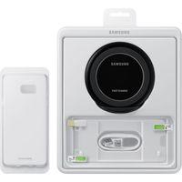 Комплект Samsung беспроводная зарядка + кабель MicroUSB + Чехол + Защитная пленка для телефона Note 7