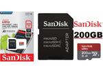 Карта памяти MicroSD 200 Gb SanDisk Ultra microSDXC UHS-I