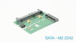 Контроллер (переходник)  M.2 SATA 2242 to SATA