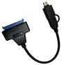 """Контроллер SATA to USB-C, USB 3.0 для SSD/HDD дисков 2.5"""""""