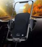 Автомобильный держатель в воздуховод с беспроводной зарядкой и инфракрасным датчиком - Car Wireless Rapid Charger C10