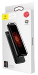 Комплект защитных стекол Baseus Glass Film Set sgapiphx-tz01 для iPhone X (Black)