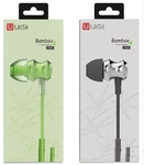 Наушники UiiSii Bamboo In-ear Earphone US60