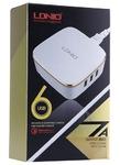 Зарядное устройство Ldnio Quick Charge 6 USB 7a (A6704)