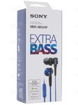 Наушники Sony MDR-XB50AP Extra Bass с микрофоном