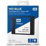 Диск SSD 2Tb WD Blue 3D NAND SATA SSD (WDS200T2B0A)